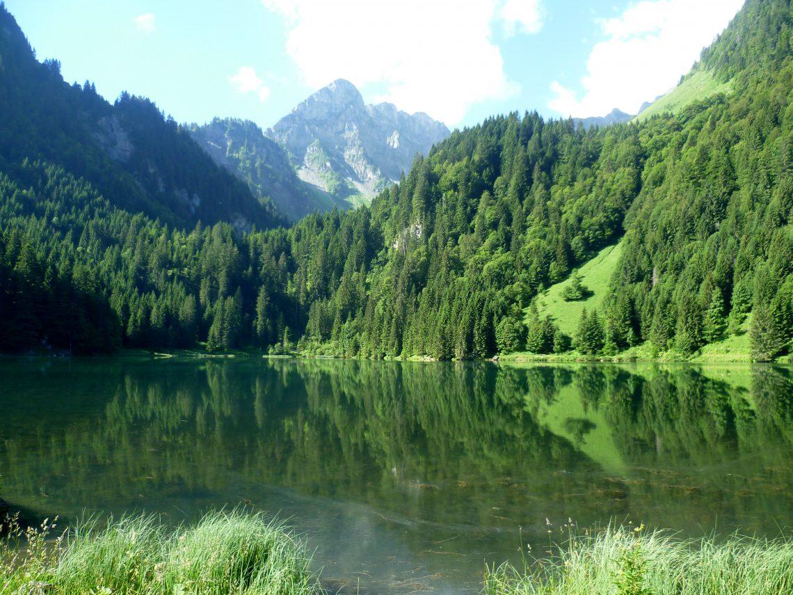 lac des plagnes abondance